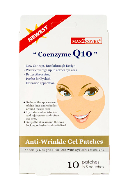 82f992b3ba4 EYEMEE PRODUCTS > Customer Care Products for Extension > max2 CO-Q10  ANTI-WRINKLE GEL PATCHES